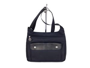 718406aef5ef SOLD OUT Longchamp Planetes Messenger Bag -Black