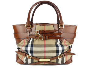4d39f92b4fbc SOLD OUT Burberry House Check Canvas Tote