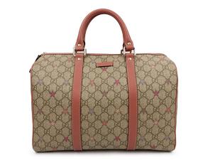 7942ed36f319a1 Gucci Joy GG Supreme Stars Canvas Boston Bag