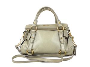 66357e0746097 SOLD OUT Miu Miu Full Leather Bautetoi Vitello Lux Top Handle   Sling