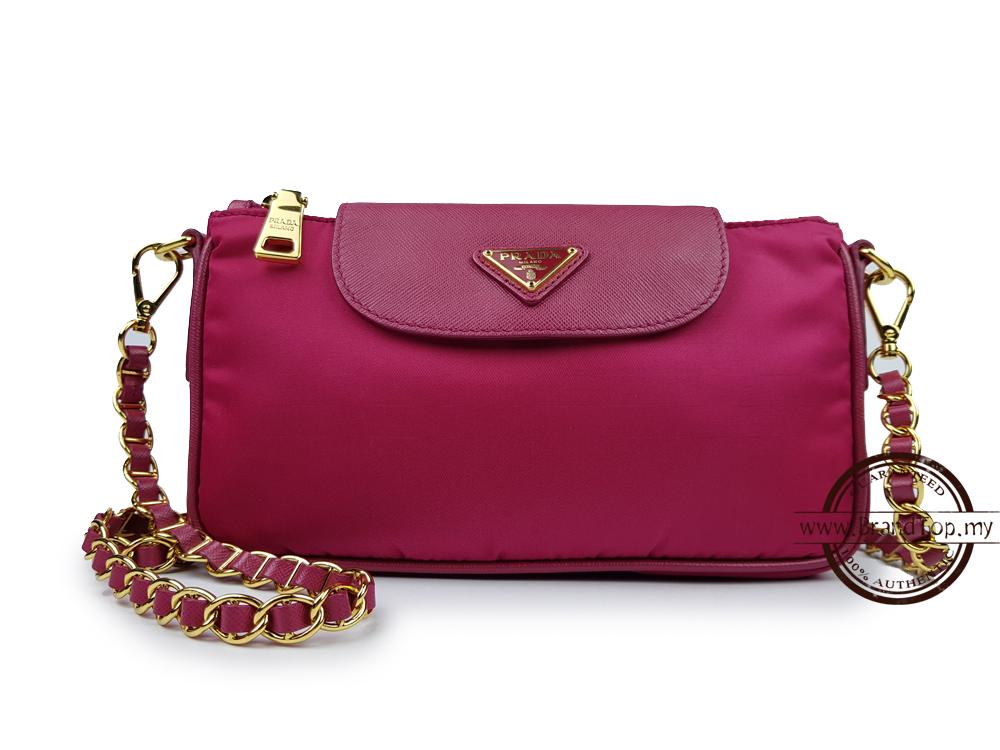 ... authentic prada nylon tessuto saffiano clutch sling bag bt0779 71962  d0cbc 2b681dec83579