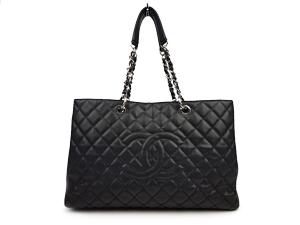 f11aacc2a330 SOLD OUT Chanel Black Caviar XL Grand Shopper Tote GST WSH