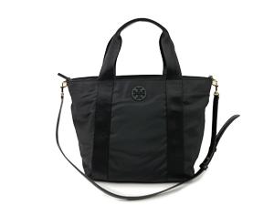 1c0c8183ed6 Tory Burch Black Nylon Two Way Bag